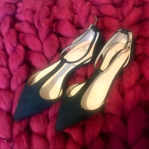 Shoes - [NWOT] black pointed flats